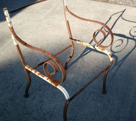 Seeking Advice On How To Replace Seats U0026 Backs On Iron Patio Chairs. |  Hometalk