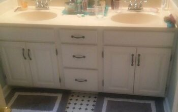 Making a bathroom vanity taller