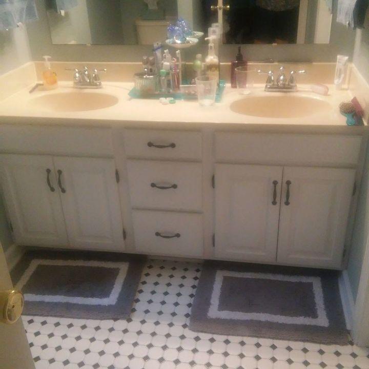 Making a bathroom vanity taller | Hometalk