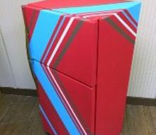 diy paint your refrigerator, appliances, how to, painting, repurposing upcycling