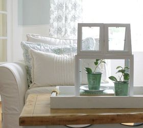 How To Make A Green House Terrarium Using Picture Frames, Container  Gardening, Crafts,