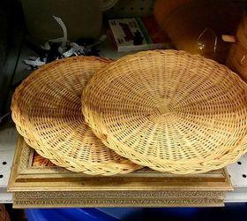 wicker paper plate holder jack o lantern door hanger crafts halloween decorations repurposing & Wicker Paper Plate Holder Jack-o-Lantern Door Hanger | Hometalk