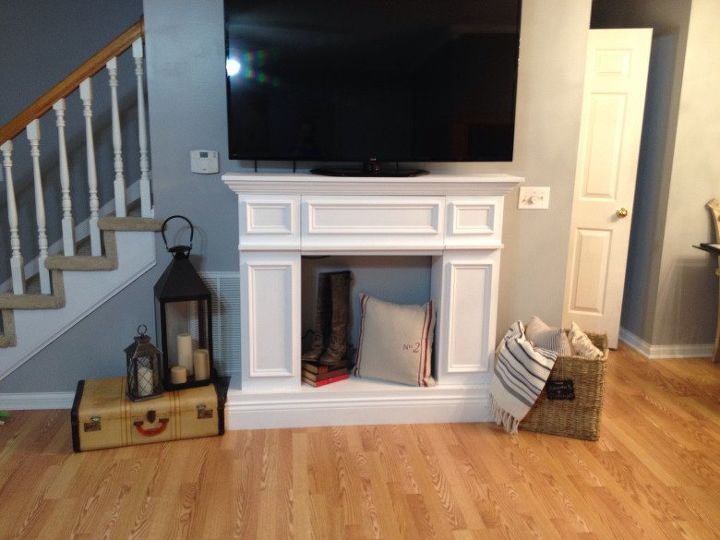Fake It Til You Make It A Faux Fireplace Hometalk