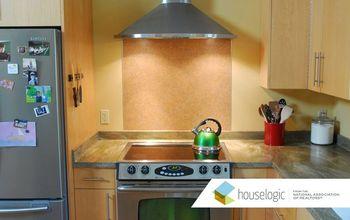 stylish stove backsplash for under 60, kitchen backsplash, kitchen design, John Riha for HouseLogic com
