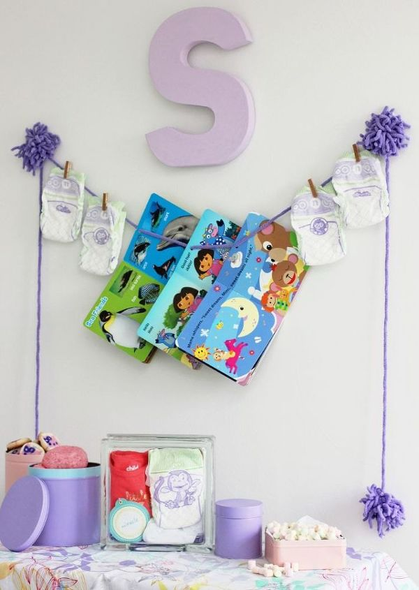 diy baby shower decor upcycle baby sprinkle, crafts