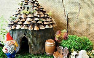 miniature gnome garden, crafts