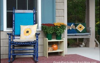 Cute & Inexpensive Wood Stands for Porch Decor