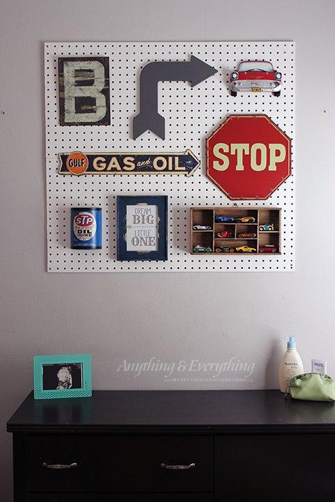 Pegboard Gallery Wall | Hometalk
