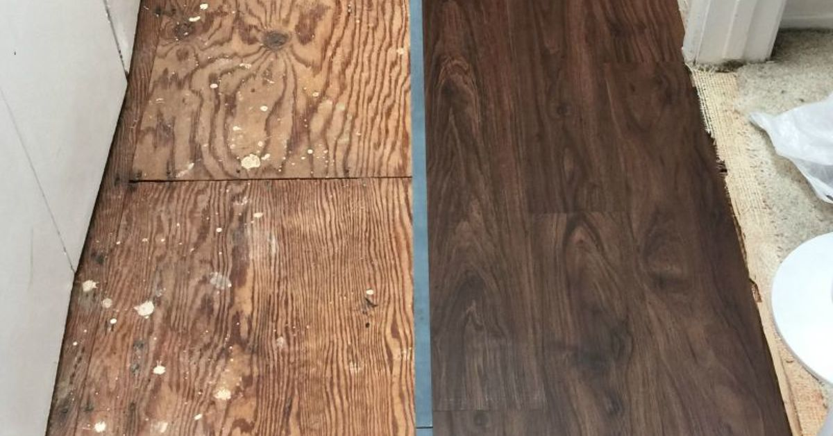 Replacing The Old Carpet With Vinyl Plank Flooring Hometalk