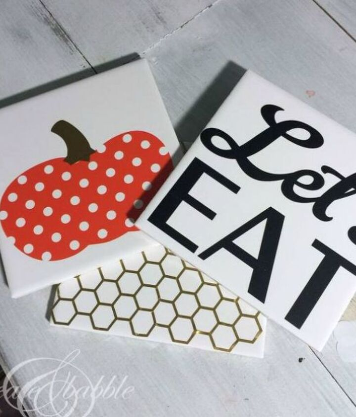 s 15 reasons to drop everything and buy inexpensive tile, tiling, Make Some Pretty Trivets