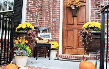 fall home tour and free printable, home decor, seasonal holiday decor