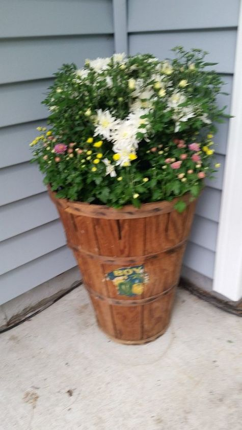 q what sealer for vintage slat basket, painted furniture, painting over finishes, It doesn t get direct down pour here but still want it to be protected