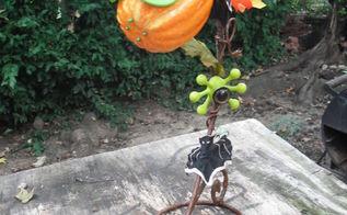 halloween carnivorous plant, crafts, halloween decorations, seasonal holiday decor