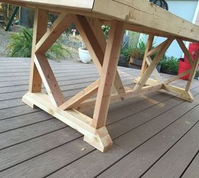 Diy Large Outdoor Dining Table Seats 10 12, Diy, Outdoor Furniture, Outdoor  Living