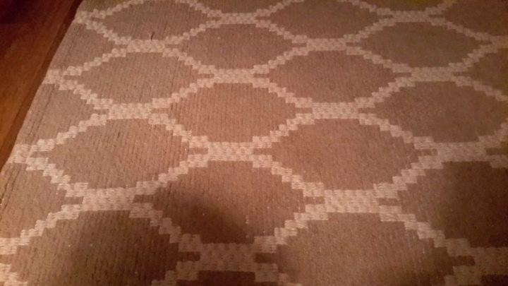 q advice on curtains, home decor, home decor dilemma, window treatments, Target natural jute rug
