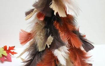Fall Feather Tree
