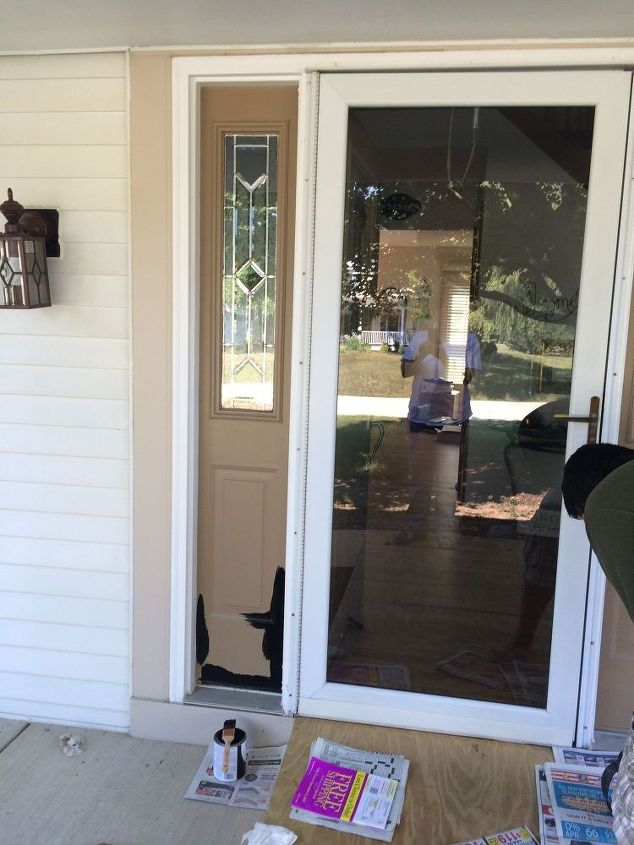q should the storm door stay or go, home decor, home decor dilemma