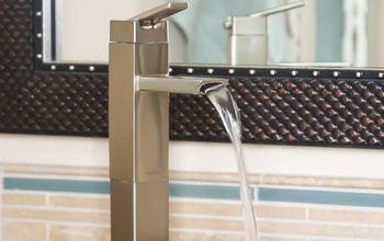 Installing a Vessel Sink Faucet