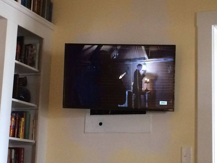 Funkification Of Wall Mounted Tv Hometalk