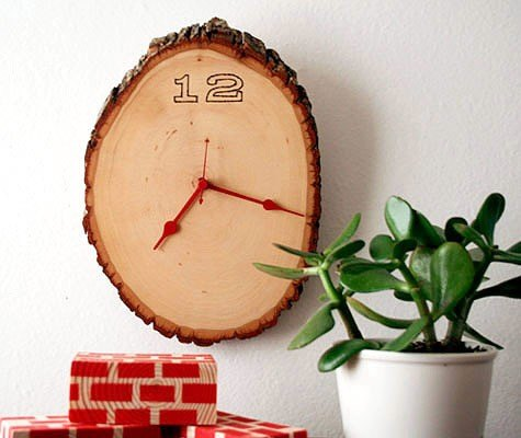 diy wood clock project, crafts, diy, how to, repurposing upcycling, wall decor