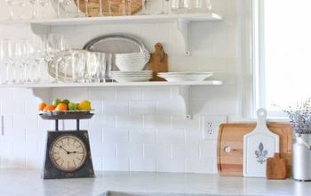 Subway Tile Kitchen Wall & Tips for Making It an EASY Job!