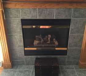 can i paint the ceramic tiles around my fireplace so ugly hometalk rh hometalk com