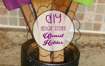 DIY Utensil Holder (dollar Store Craft)