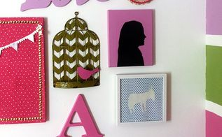 sentimental gallery wall for a girls room, bedroom ideas, crafts, wall decor