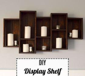 diy display shelf hometalk rh hometalk com how to build a simple display shelf how to build a liquor display shelf