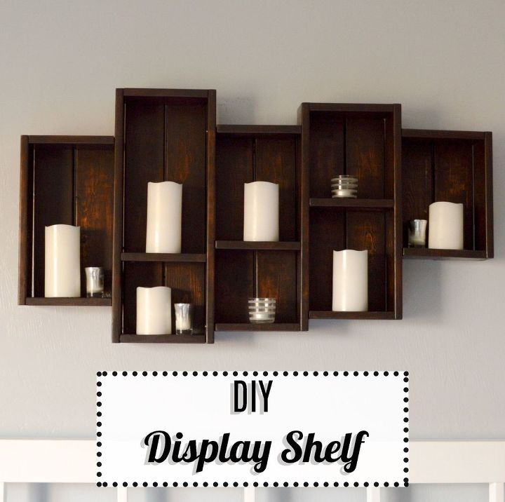 Diy Display Shelf Hometalk