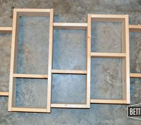 Diy Display Shelf, Bedroom Ideas, Diy, Shelving Ideas, Wall Decor,  Woodworking
