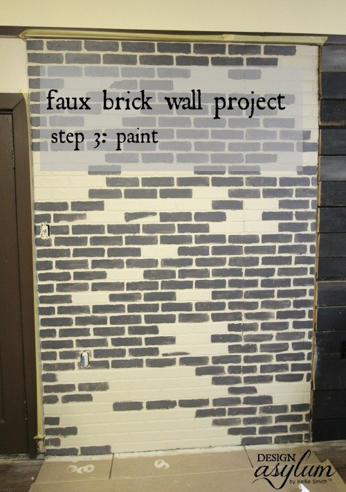 Diy Making Faux Brick Walls Look Old Hometalk