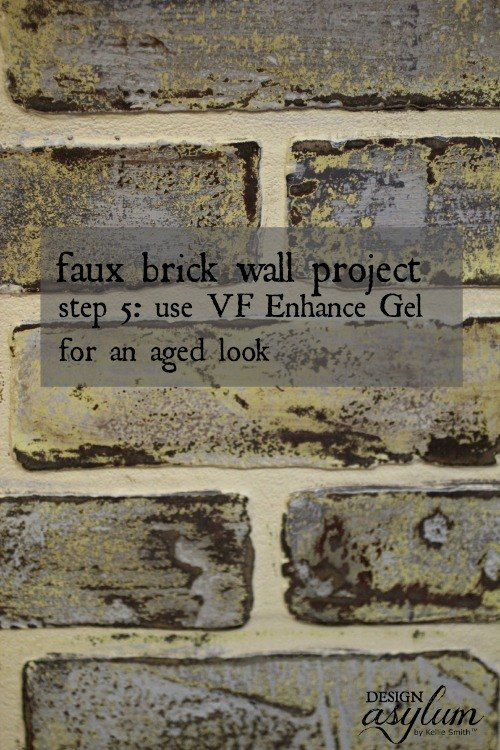 Well Liked Diy Making Faux Brick Walls Look Old Hometalk To47