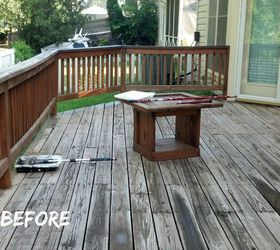 Back Yard Chronicles My Makeover On A Dime, Decks, Gardening, Outdoor  Furniture,