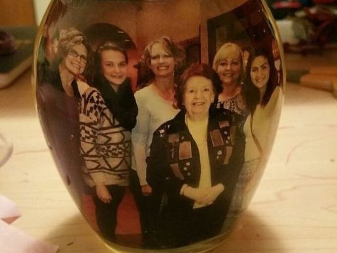 picture of family love in a jar, crafts