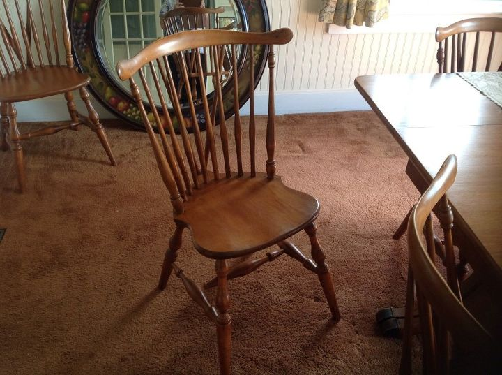 q dining room dilemma, paint colors, 8 of these chairs