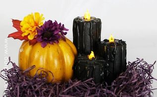 tp roll black candles halloween decor, crafts, halloween decorations, repurposing upcycling, seasonal holiday decor