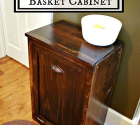 Charmant Diy Wooden Waste Basket Cabinet, Diy, Kitchen Design, Organizing,  Woodworking Projects