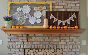 Fall Harvest Mantel
