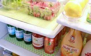 refrigerator makeover, appliances, organizing