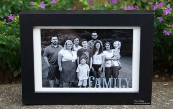 Etched Family Frame