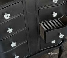 repurposed desk drawer sections, painted furniture, repurposing upcycling