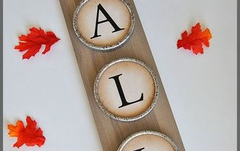 Upcycled DIY Home Decor For Fall