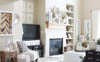 fall home tour, home decor, living room ideas, seasonal holiday decor