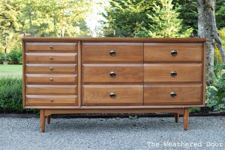 Before After LA Period Mid Century Modern Dresser Hometalk - La modern furniture