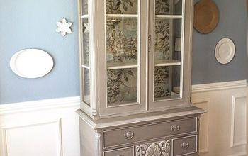 French Country Toile Hutch!