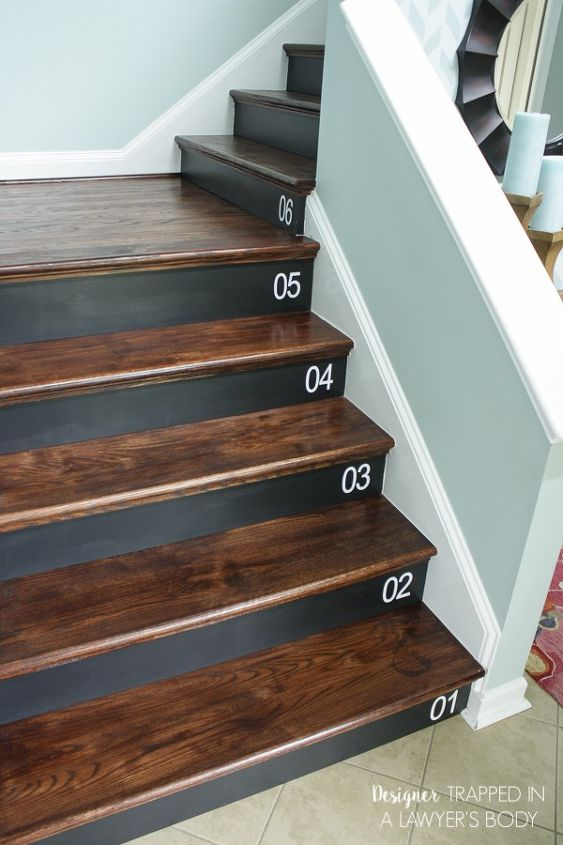 Diy Staircase Renovation Completed In 1 Weekend Hardwood Floors Home Improvement
