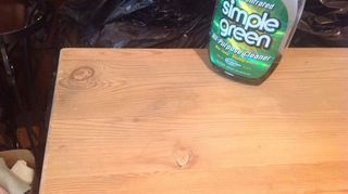 , I used Simple Green and it worked perfectly It got down into the wood to dissolve the oil Great stuff Thanks for all your help