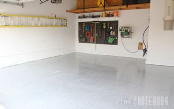 Garage Makeover - Before & After