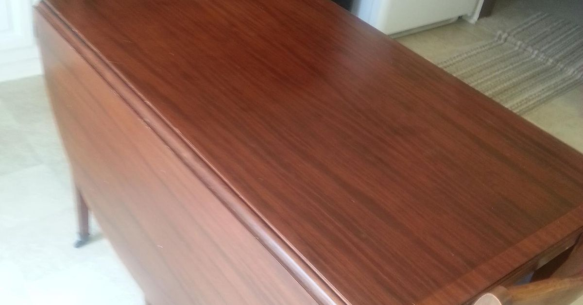 How Do I Remove Wax And Dirt Build Up From Vintage Table Top Hometalk